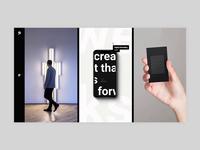Pearce - Portfolio Columns agency bold portfolio branding creative animation minimalism minimal design flat website web ux ui