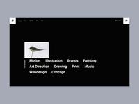 Pearce - Tooltip Project Showcase typography agency bold portfolio branding creative animation minimalism minimal design flat website web ux ui