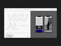 Breton - Creative Agency Home brutalist design brutalist brutalism brutal typogaphy agency portfolio branding creative animation minimalism minimal design flat website web ux ui