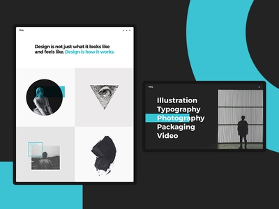 Orkan - Artist and Design Agency Portfolio Theme portfolio art bold agency flat typography branding creative wordpress website web ux ui logo design illustration