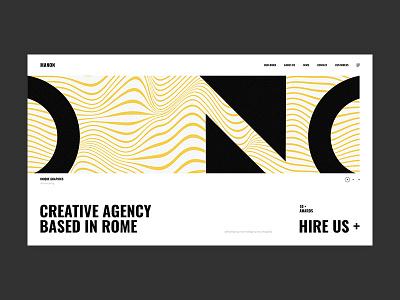 Manon - Project Slider portfolio agency typography bold minimalism animation minimal branding flat creative wordpress website web ux ui design illustration