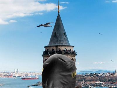 COVID 19 GALATA TOWER İSTANBUL instagram yaratıcı bulut behance türkiye galata tower istanbul covıd