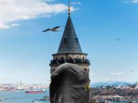 COVID 19 GALATA TOWER İSTANBUL