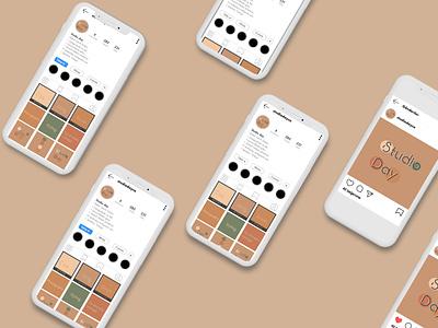 Studio Day UI/UX Desıgn grafik tasarım illustration instagram yaratıcı bulut istanbul behance ui design uıux day studio