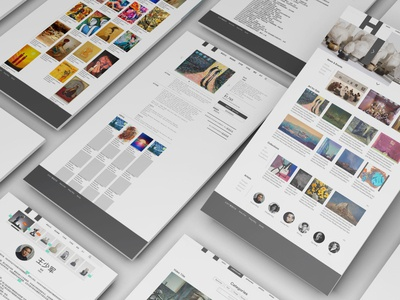 Gallery Web Design