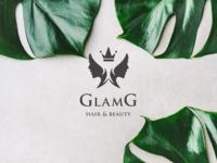 GLAMG LOGO & IDENTITY DESIGN