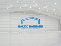 BALTIC HANGARS LOGO DESIGN