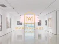 MARTINA ART GALLERY LOGO & IDENTITY DESIGN