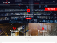 SENSORIS WEB DESIGN & PROGRESS