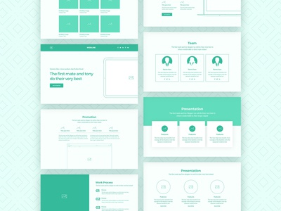 Webline Wireframe Kit