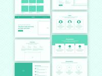 Webline Wireframe Kit
