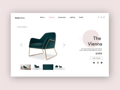 Swiss Style Product Page