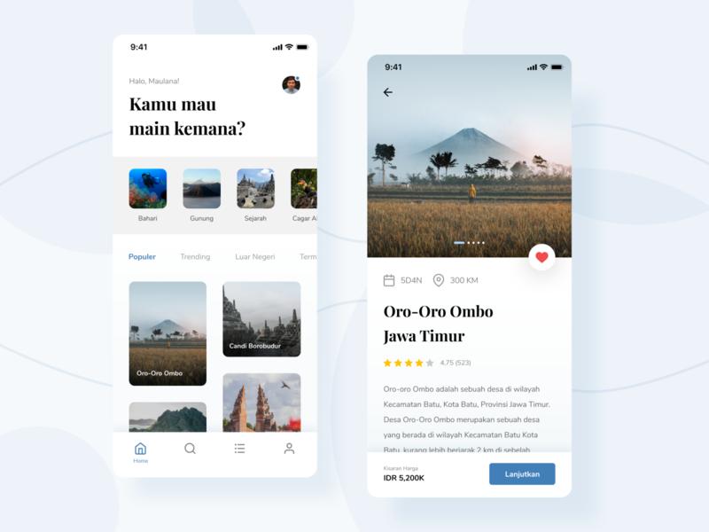 Travel App - Exploration