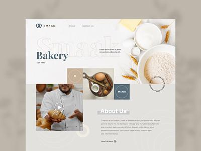 Exploration - Bakery Website landingpage hero section bread bakery website bakery uiuxdesigner webdesigner webdesign uiux ui clean userinterface uiuxdesign uidesigner uidesign