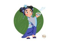 The Princess of Tea Ceremonies