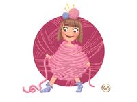 The Princess of Cozy Yarn