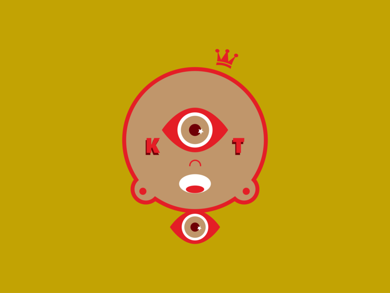 Work Signature Icon logo design sacredbred character design illustration vector