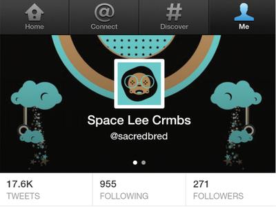 sacredbred on Twitter.