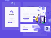 neurongram.ru - redesign (entry, exit, recovery)