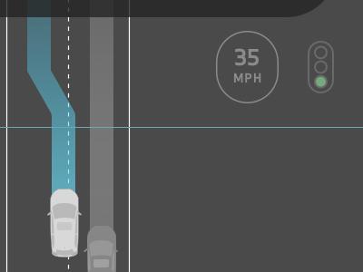 Self Driving Car UI