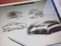 Exterior Vehicle Sketches