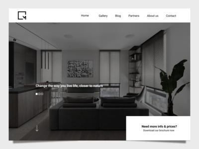 Interior Design Firm Homepage