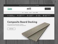 Dino Decking Website Design