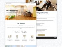 TaraVista Behavioral Health Center Website Design