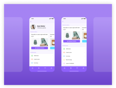 E-Commerce Clothing App ux  ui application ui application app site interface design ui interface website ux design ux designer