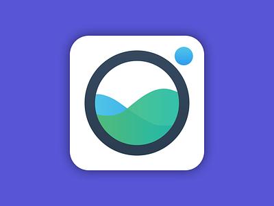 Laundry App Icon app icon illustrator washing machine social photoshop ios icon ios icon app