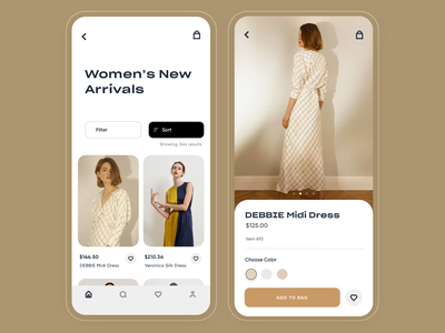 Zoya - Fashion app uxdesign save bookmark profile search ios design uidesigner uidesign startup fashion app ux mobile ui inspiration