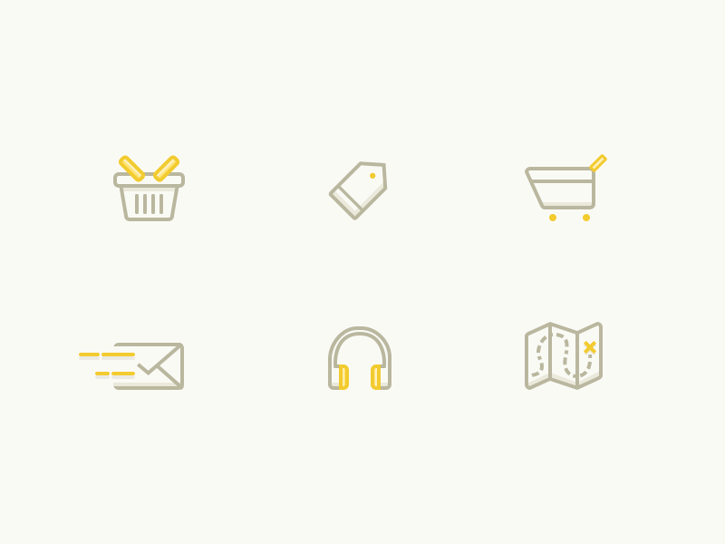 Random iconography consistent mail flatdesigner pin map inspiration tag cart recent headphone icondesigner basket cohesive mobile india web designer yellow passionate icon iconography headphone outline icons