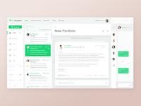 1. Email App - UX/UI design