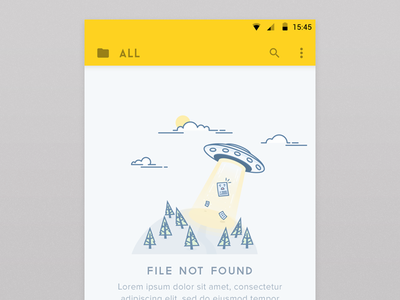 404 page - Illustration not empty state design icons ufo location found empty space internet blank icon notes 500 line space outline app abducted note dropbox alien pages tree web error ios mobile website android iphone missing illustrations inspiration 404 ui flat style passionate designer  illustrator