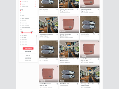 Craigslist Redesign landing page b2c classified ads marketplace web design hero filter icon view sell card list buy website product admin clean location dashboard redesign search ui red ux website minimalist web filters ecommerce minimal mumbai craigslist