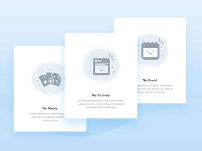 Empty State illustration chat web  onboarding alert music space permission play empty illustrator ios illustration android mobile icon material page minimal mobile 404 feed error blank media no mascot event page app cute calendar