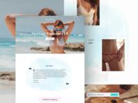 Bluestrom - fashion website