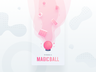 🏀Dribbble is Magic Ball 🔮 sticker icon web mobile app mobile illustration iconography playoff pattern watch rebound sticker apple shot designer app freelance shapes icon patttern illustration abstract shape color vector designer mobile flat dribbblers dribbble draft gradient invite ball logo wave sketch web water future magic