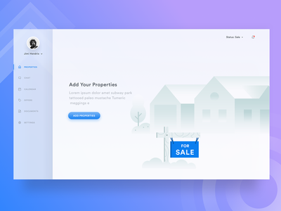 🏠 Property - Empty State empty states house vector website uxdesign sale rent illustrator error fluent event empty 404 clean card event blank page minimal page dashboard rent schedule illustration gradient calendar state sell icons design real project property house web  property cards mac sell app