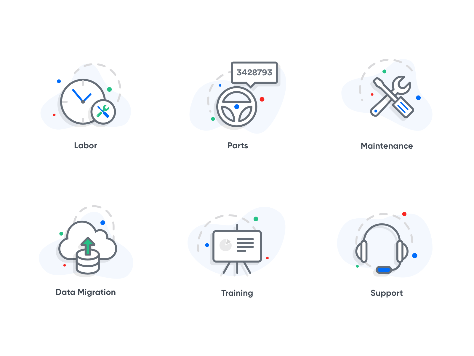 Features icons by iftikhar shaikh