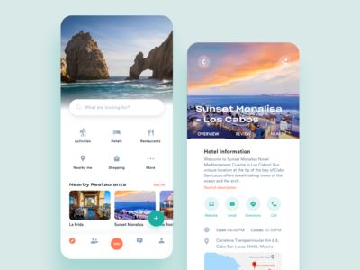 Travel iOS App