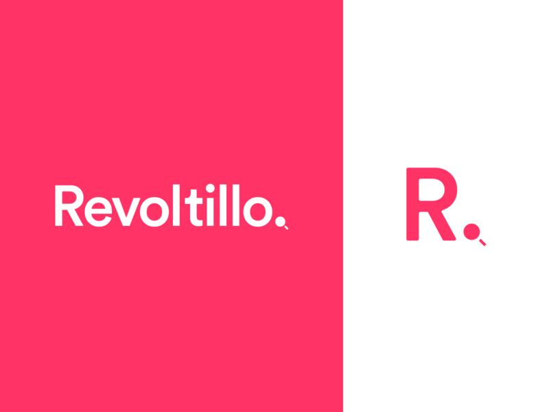 Revoltillo Brand Identity app web buy sell classifieds typography marketing ads inspiration search design identity mark logo branding