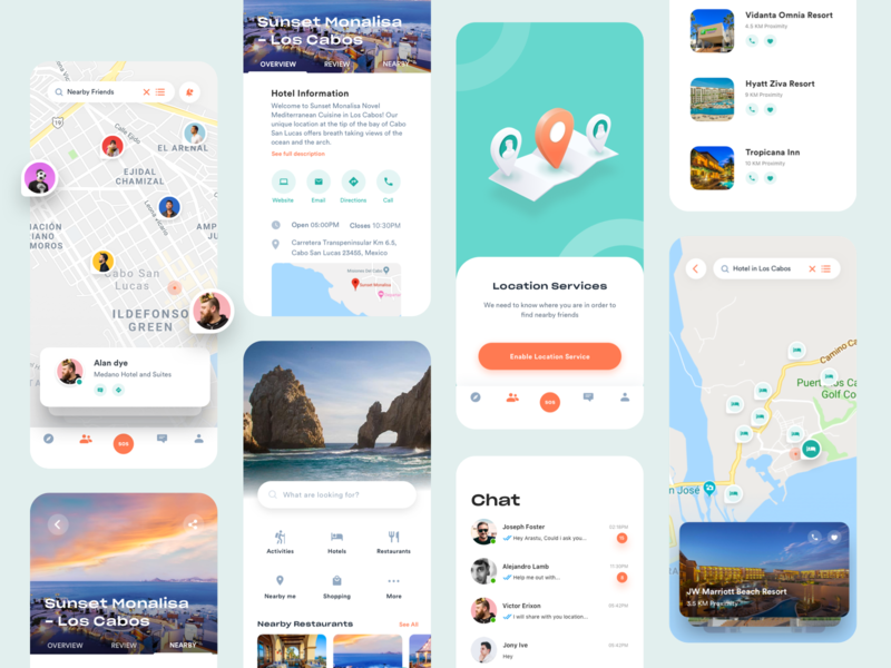 Travel App design 3d userinterface minimal product ux ui explore empty state hotel icons app travel illustration inspiration design ios mobile
