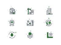 Blockdym icons