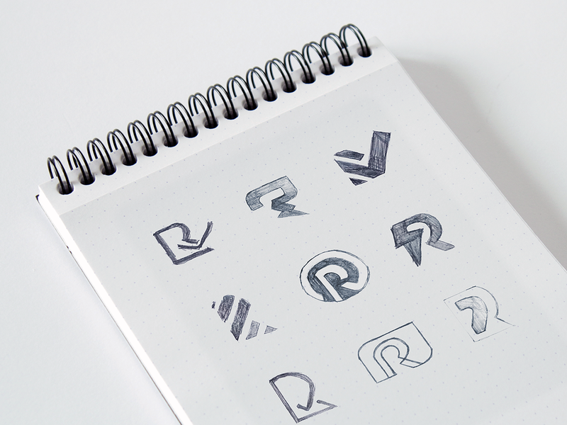 Ritual - Logo Sketches color ui identity branding design logo