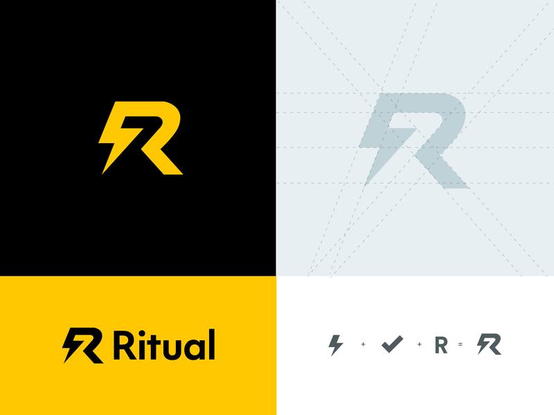 ritual branding fast check decision startup ritual mark logo branding inspiration