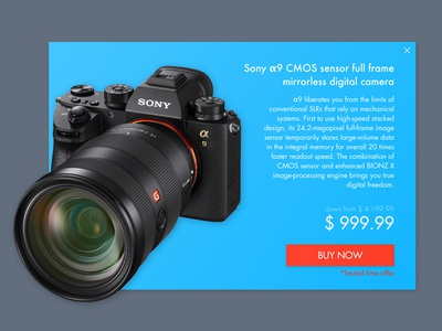 Daily UI #036 – Special Offer