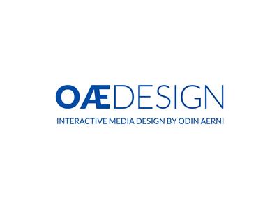 Thirty Logos Challenge 22 – Personal Logo (OÆ Design)