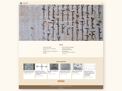 Swiss Paper Historians – Website
