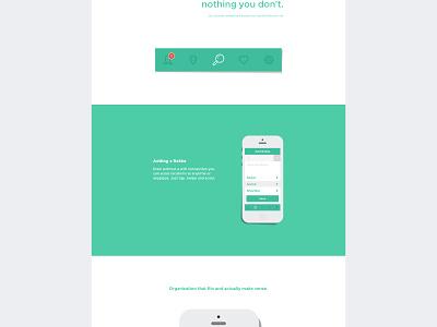 Rekke clean ux animation mobile app web page site ui modern flat design